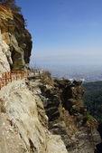 Trekking in Cangshan mountains, Dali, Yunnan province, China — Stock Photo