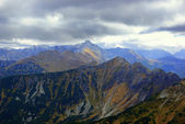 Landscape of high Tatra Mountains, Poland — Stock Photo