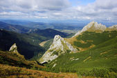 Giewont, landscape od Tatras Mountain in Poland — Foto Stock
