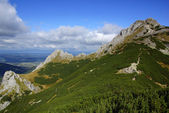 Giewont, landscape od Tatras Mountain in Poland — Stock Photo