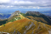 Giewont, landscape od Tatras Mountain in Poland — Foto de Stock