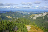 Landscape of Tatras mountains in Poland — Stock Photo