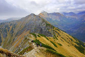 Landscape of Tatras mountains in Poland — Stock fotografie