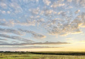 Iowa-landschaft — Stockfoto