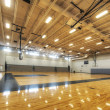 Stock Photo: Gymnasium at Middle School