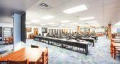 Aplikace Media center ve střední škole — Stock fotografie