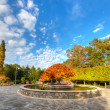 Stock Photo: Arboretum in North Carolina