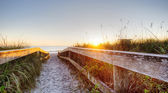 Cocoa Beach at Sunrise — Stock Photo