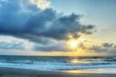 Sonnenaufgang in Melbourne Beach, florida — Stockfoto
