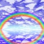 Big rainbow — Stock Photo #12487022