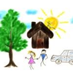 Children's drawing — Stock Photo #12487024