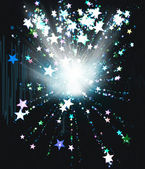 Star explosion — Stock Photo