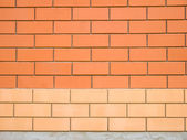 Two colors brick wall — Stock Photo