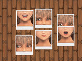 Expressions photos — Stock Photo