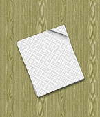 Two sheets of paper — Stock Photo