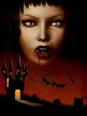 Zamek wampirów — Zdjęcie stockowe