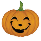 Pumpkin with face — Foto Stock