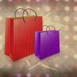 Stock Photo: Two gift bags
