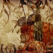 Vintage violin background — Stock Photo #14676129
