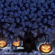 Halloween night oak — Stock Photo #14751121