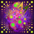 Colorful music background — Zdjęcie stockowe