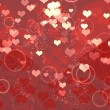 shiny hearts — Stock Photo