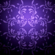 Violet background with pattern - Foto Stock