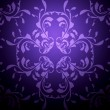 Violet background with pattern - Stock Photo
