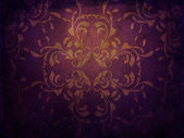 Grunge purple background with pattern — Stock Photo