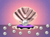 Pearls ibackground — Stock Photo