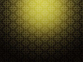 Yellow background with pattern — Stock Photo