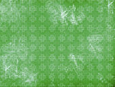 Vitage flourish pattern green background — Stock Photo