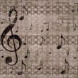 Vintage music background — Foto Stock