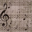Vintage music background — Lizenzfreies Foto