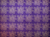 Vintage flourish violet pattern — Stock Photo