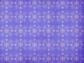 Vintage snowflakes violet background — Stock Photo