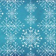 Vintage snowflakes — Stock Photo