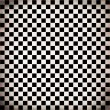 Stock Photo: Grunge checker board