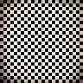 Grunge checker board — Stock Photo