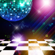 Dancing floor — Stock Photo
