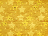 Funny stars on paper texture — Stock Photo