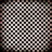 Grunge checker board — Stock Photo