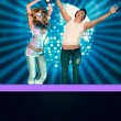 On disco party — Stock Photo #21166075