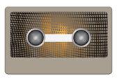 Abstrakt kassett — Stockvektor