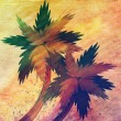 Grunge cartoon palms — Stock Photo #23008110