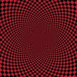 Foto de Stock  : Abstract red checkerd background