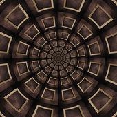 复古木结构万花筒 — 图库照片
