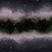 Nebulosa espacio abstracto colorido — Foto de Stock