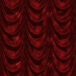 Red curtain with heart pattern — Stock Photo #25282547