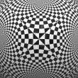 Black and white checkered texture — Stock Photo